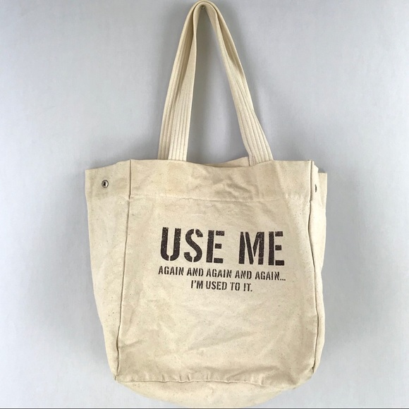 Kenneth Cole Handbags - Kenneth Cole |  Use Me Again Eco-Friendly Tote Bag